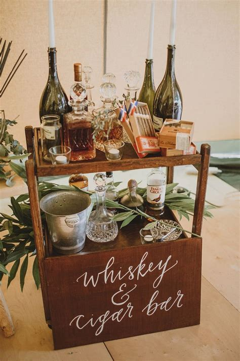 Best 10  Cigar bar wedding ideas on Pinterest   Cigar bar