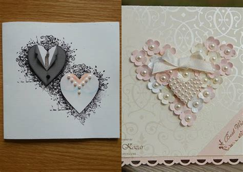 Gift Card Wedding - handmade wedding cards