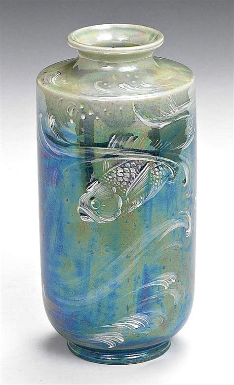 Shelly Vase by A Shelley Lustre Ware Vase By Walter Slater Circa 1915 Shelley Ceramics S Price