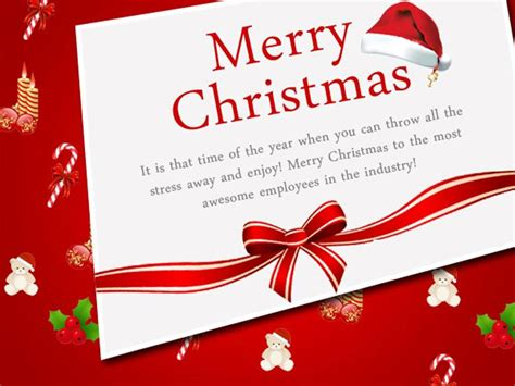 christmas message  employees    christmas card messages