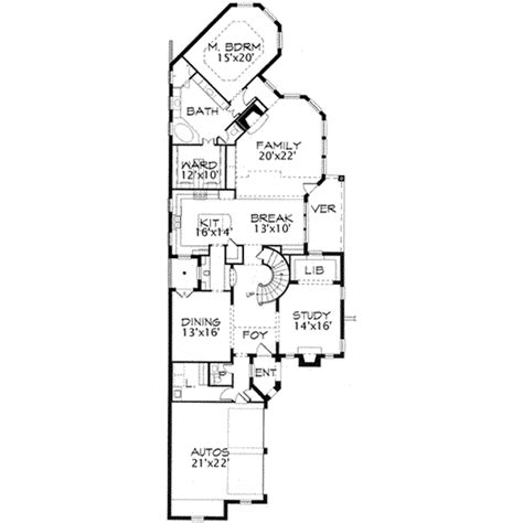 3800 sq ft house plans european style house plan 3 beds 2 5 baths 3800 sq ft plan 141 126