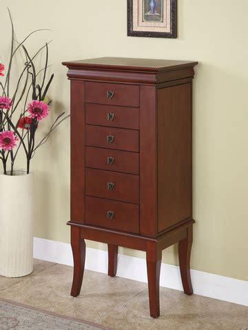 Jewelry Vanity Armoire by Gifts At Wholesale Furniture Brokers Last