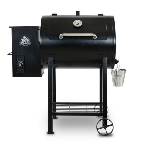 pit 700fb pellet grill black 71700fb the home depot