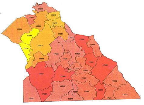 Pa Search York County York Pa Zip Code Map Clubmotorseattle