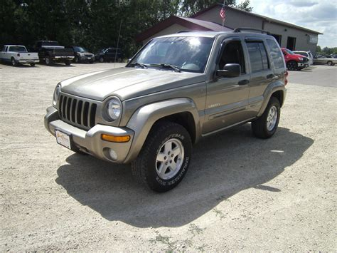 jeep liberty limited 2004 jeep liberty trim information cargurus