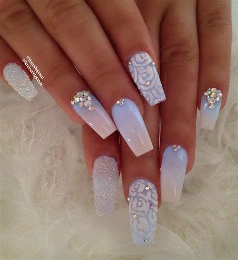 Nail Ideas by 30 Like Wedding Nails For Your Big Day Easy Nail