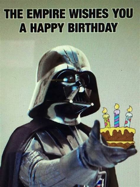 Star Wars Birthday Memes - happy birthday meme hilarious funny happy bday images
