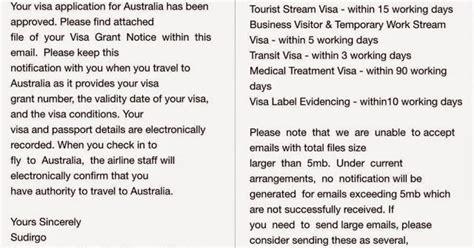 berapa lama untuk membuat visa australia life is an adventure pengalaman pengajuan visa australia