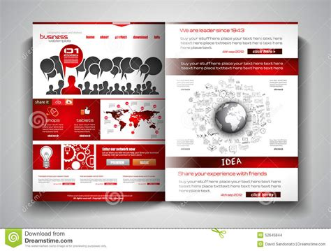 flyer and brochure templates vector bi fold brochure template design or flyer layout to