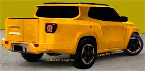 renegade jeep truck horrific jeep truck renderings jk forum