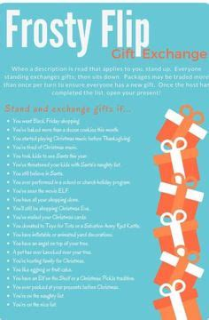 12 days of christmas gift swapping game 12 days of gift exchange gift exchange