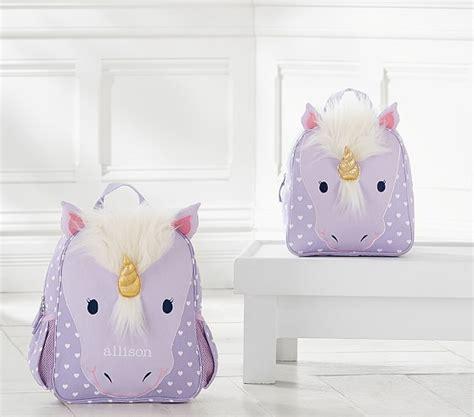 Jewelry Boxes Pottery Barn Classic Critter Unicorn Backpacks Pottery Barn Kids