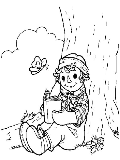 raggedy ann and andy coloring pages coloringpagesabc com