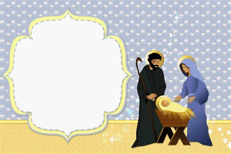 free nativity tunnel card template pretty nativity free printable invitations cards