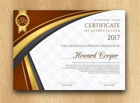 certificate photoshop template 14 best sertifika images on certificate