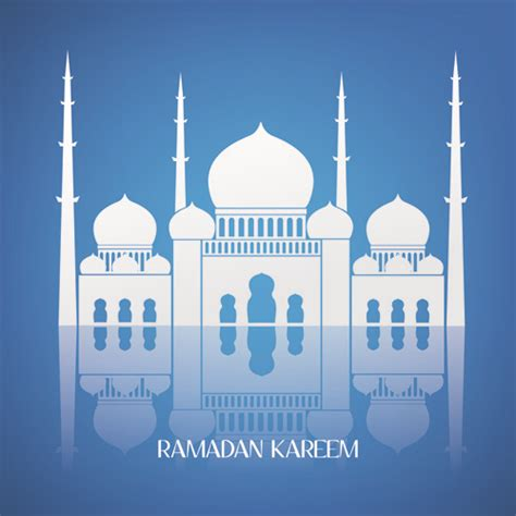 design masjid vector free download creative islamic mosque vector background free vector in
