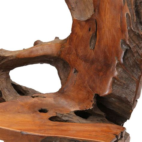 tree trunk chair tree trunk chair at 1stdibs