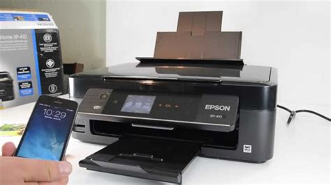 epson xp 410 resetter epson xp 410 small in one wireless printer youtube