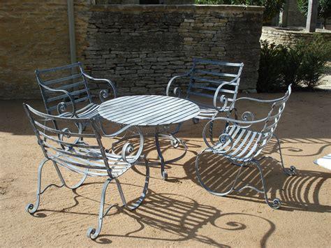 Metal Outdoor Furniture by Metal Garden Furniture