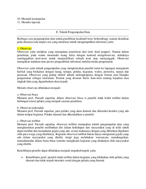 format makalah analisis makalah penelitian kualitatif