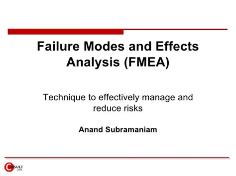 design failure mode effect analysis fmea failure modes effects analysis fmea