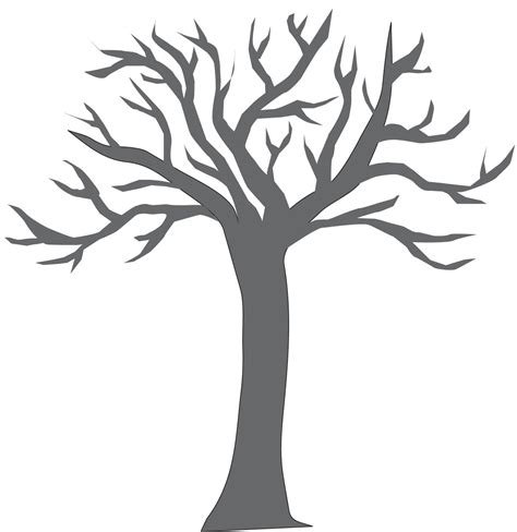 Constructing Conceptions Simple Mural Making Tree Trunk Coloring Page