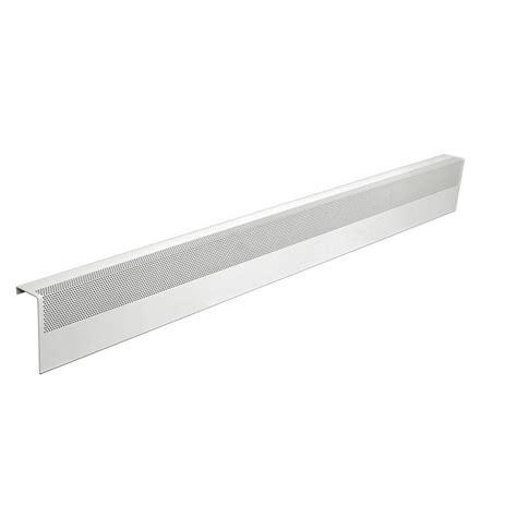 baseboard heater with fan baseboarders basic series 5 ft galvanized steel easy slip