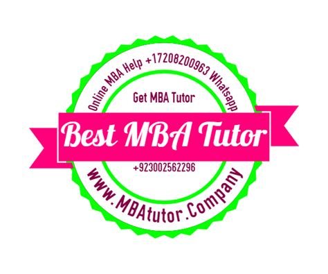 Mba Tuition Assistance by Mba Tutor Mba Mba Tuition Accounting