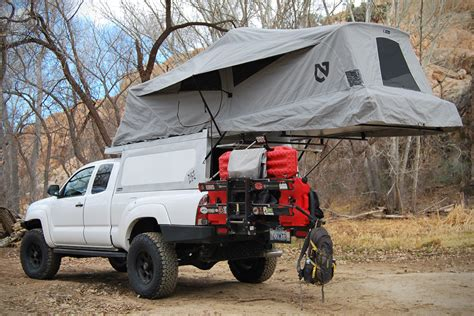 toyota tacoma bed tent toyota tacoma overland roof tent gearnova