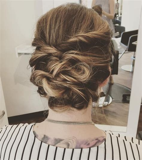 trendy updos  medium length hair updo hairstyle