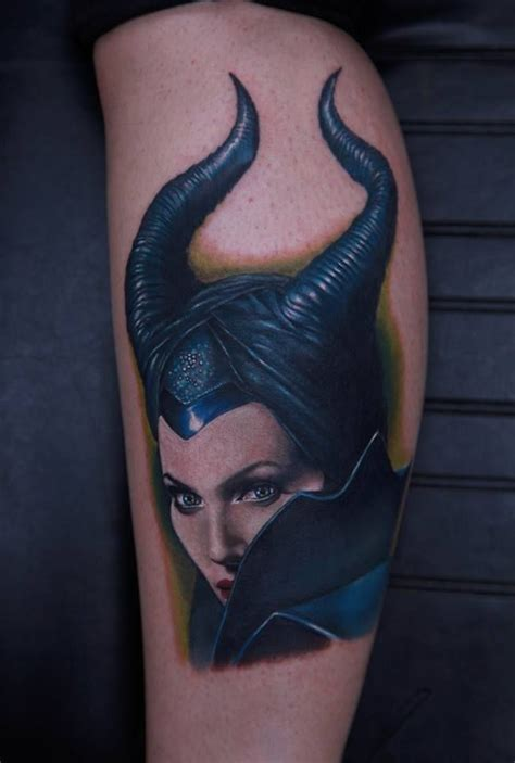 maleficent tattoo disney villain maleficent tattooed by rich pineda yucca
