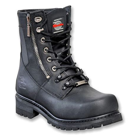 milwaukee boots s milwaukee trooper zip logger boots black 132410