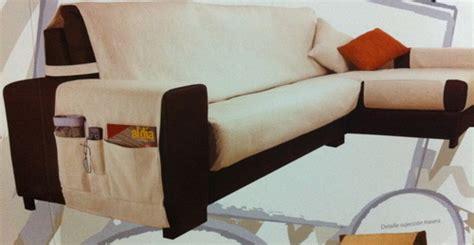 copridivano per divano con isola telerie balgera copridivano per chaise longue penisola