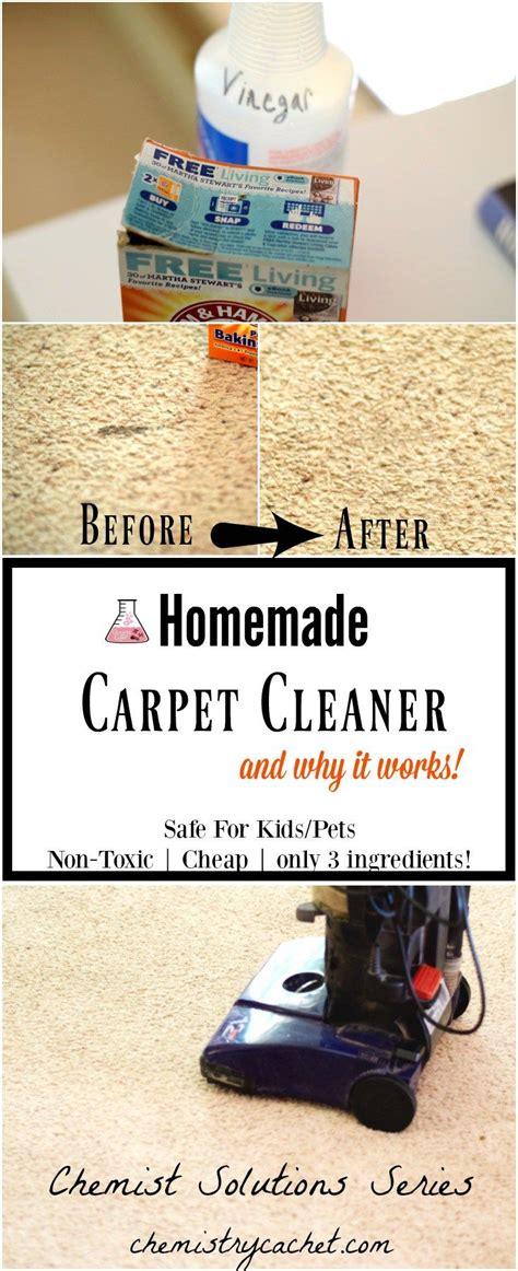easy homemade carpet cleaner   ingredients