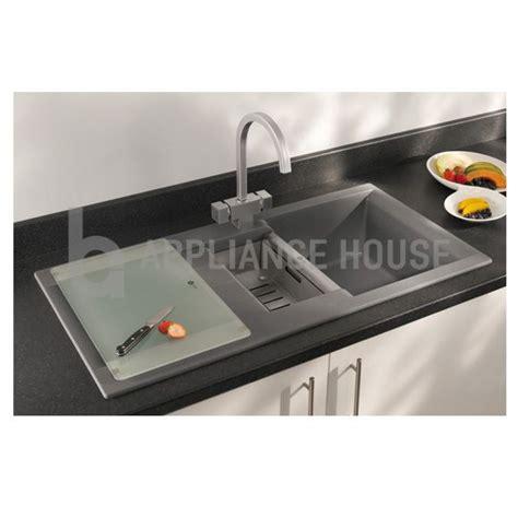 Carron Phoenix One And A Half Bowl Granite Graphite Sink Model | carron phoenix java 150 granite sink sinks pinterest