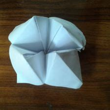 How To Make A Paper Fortune Teller Wikihow - how to make a cootie catcher origami fortune teller 10