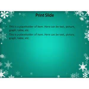 winter templates free winter powerpoint template background for