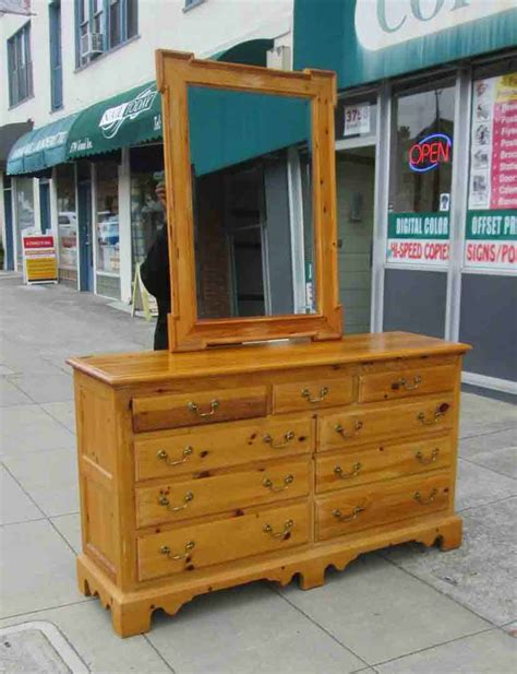 knotty pine dresser uhuru furniture collectibles sold knotty pine