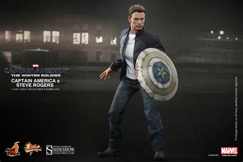 Boneka Captain America Civil Wars Import toys captain america steve rogers sixth scale winter