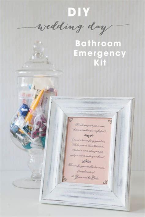 diy bathroom baskets diy bathroom emergency kit free printables free