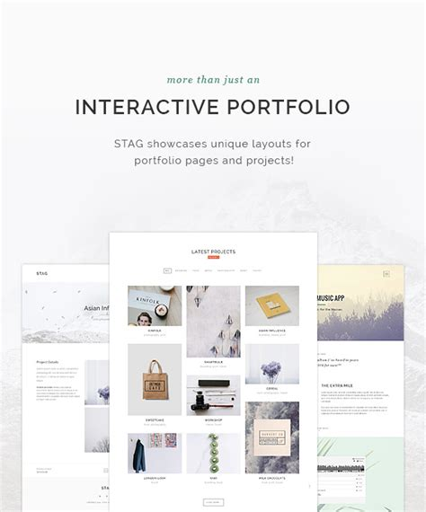themeforest freelancer nulled themeforest stag portfolio theme for freelancers