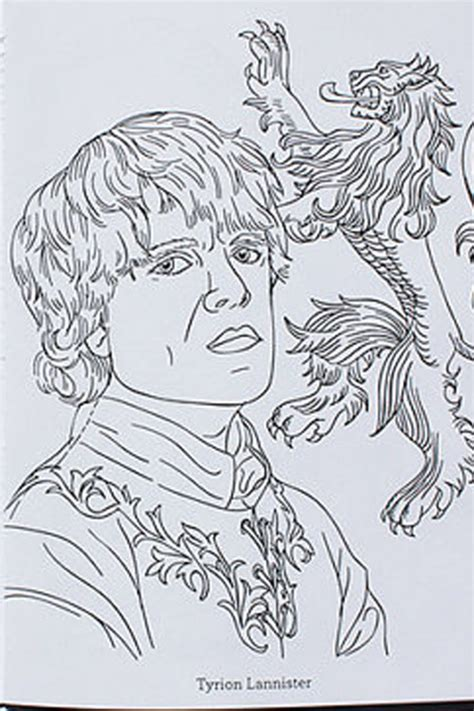 thrones colouring book indigo of thrones coloring book