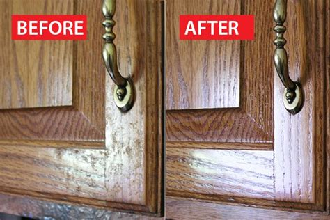 cleaning oak kitchen cabinets how to clean grease from kitchen cabinet doors ehow