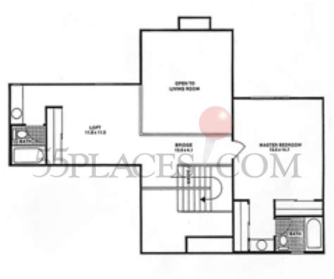 heather gardens floor plans 1663 floorplan 1663 sq ft heather gardens 55places com