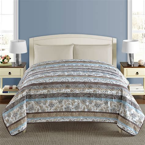 Sunham Home Fashions Quilts by Upc 734737400108 Great Price Griffin Quilt Brown