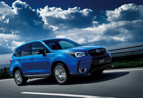 2015 subaru forester ts 280ps sti officially revealed