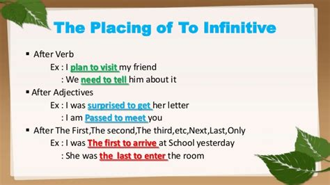 verb pattern deserve powerpoint to infinitive