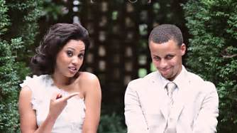 Stephen curry s wedding photos and military charity registry the