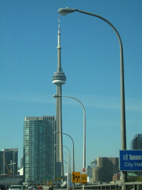 Cn Tower Interior by File Cn Tower From Inside A Car Jpg Wikimedia Commons