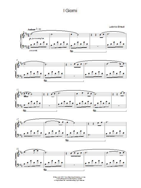 i giorni free printable sheet music i giorni sheet music direct